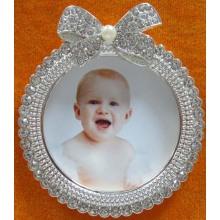Runde schöne Baby-Foto-Rahmen