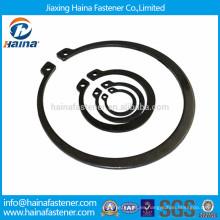 Anillos de retención de acero al carbono DIN471, anillos de retención para eje JIS B 2804