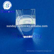 Grand prisme solaire optique à quartz