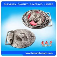 Kundenspezifische Qualität Pferd 3D Metall Gürtelschnalle