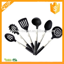 Conjunto de utensílios de cozinha de silicone visto na TV