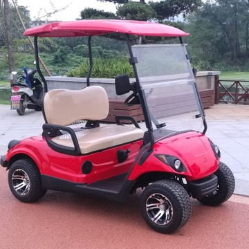1-2 person 4 wheel electric Golf cart