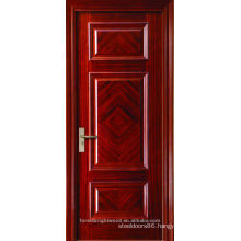Finished Modern art paintings 3 Panels with fancy pattern craftsman design wooden door