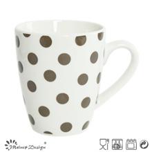 10oz White porcelain with Full Decal Coffee Mug