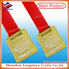 Zinc Alloy Custom Design Custom Finisher Medals