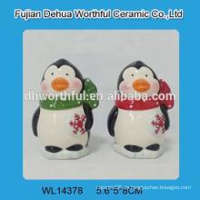 El pingüino encantador 2016 diseñó el coctelera de cerámica de S & P para la cocina