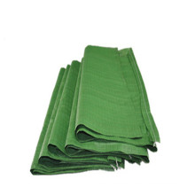 Cheap Wholesale Recycled Packing 50kg PP Woven Green PP Woven Sand Cement Sack Bags