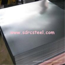Folha de aço laminada a frio de 0,6 mm * 1219 mm * 2440 mm