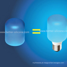 Colorful Elastic LED Silicone Lâmpada Capa
