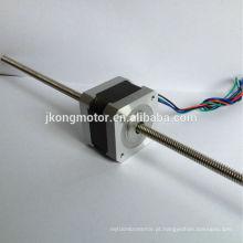 barato motor deslizante linear não-cativo de NEMA17 12V