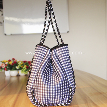 Fashion Design Perforated Neoprene Summer Beach Bags