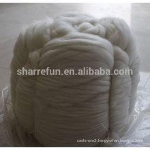 100% Pure Chinese White Cashmere Tops with SGS