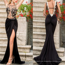 Hohe Qualität Lady Backless formale Maxi Cocktailkleid (53015)
