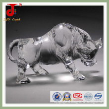 Douze bovins de cristal zodiacaux chinois (JD-CA - 106)