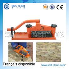 Manual pavimentos bloque y cortador de ladrillo de concreto portátil
