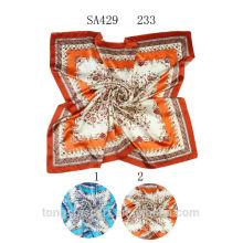 SA429 233 100% lenço de seda 100% seda hijab xale e scarvessupplier alibaba china