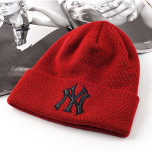 Heißer Verkauf NY Patch Knitted Hat
