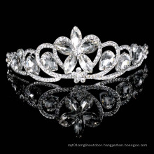 Beautiful Crystal Flower Tiaras Night Party Crowns