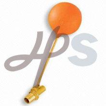 латунный плавающий клапан с пластиковым шариком