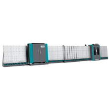 Machine de traitement à double vitrage à grande vitesse entièrement automatique