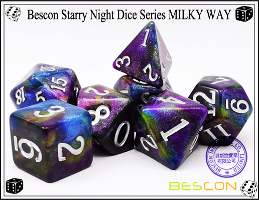 Starry Night Dice-7