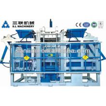 Machine de fabrication automatique de blocs d'étagères / machine de fabrication de blocs de béton utilisée par l'Allemagne
