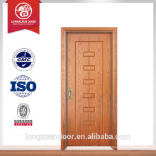 Puerta de incendio de nuevo diseño puerta de madera exterior usada puerta del hotel