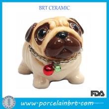 Beau artisanat en céramique de cadeau de chien