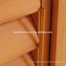 Wholesale Wooden Red Cedar Plantation Window Louver Shutters