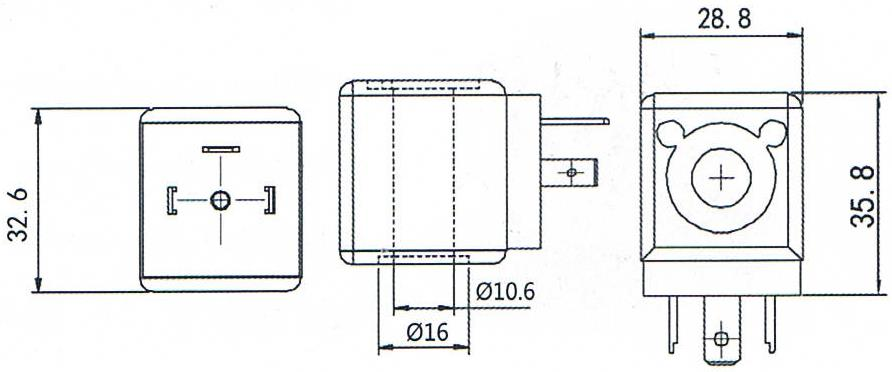 Dimension of BB10733017 Solenoid Coil: