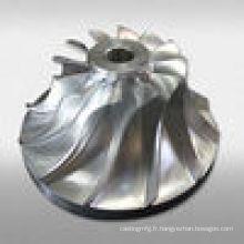 Moulage à engrenages cylindriques en acier au carbone chaud Moulage en acier inoxydable