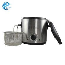 Vente chaude de haute qualité cuisine 1.0L pomme de terre petite friteuse, friteuse électrique générale