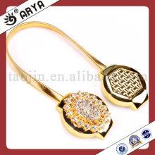Goldene magnetische dekorative metallische Vorhang Clips