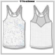 Private Label Gym Wear Sports Women Spandex Yoga Tank Top