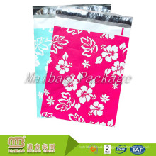 Tamper Evident Boutique Shipping Envelope Custom 6X9 Pink Aloha Designer Hawaiian Poly Mailers