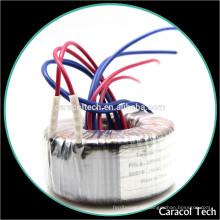 Transformador de red toroidal 350VA 0-24 V 10A + 0-24 V 1A