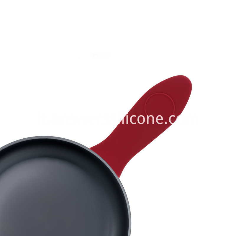Silicone heat insulation pot handle cover