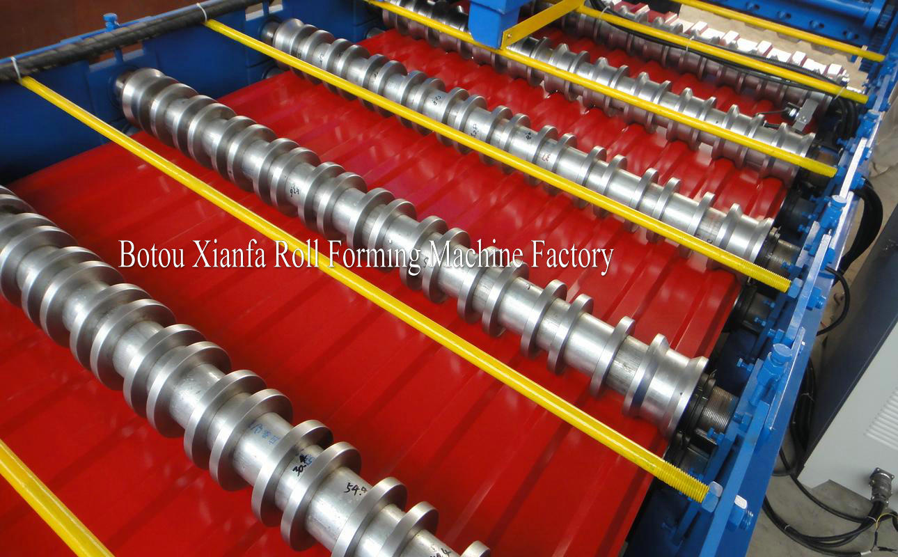 metal roof sheet rolling machine