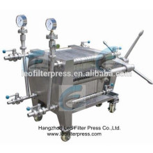 Leo Filter Press Stainless Steel Plate Filter Press