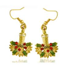 Bijoux de Noël / Boucle d'oreille de Noël / Cloche de Noël (XER13375)