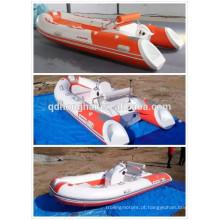 China costela nova fibra de vidro barco inflável