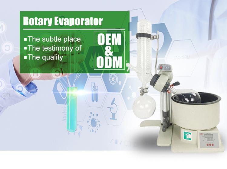 Excellent Industrial Multiple Effect 2L-5L Rotary Vacuum Flash Evaporator