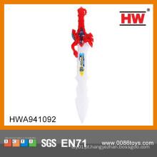 Engraçado 60CM brinquedo plástico espada piscando para crianças piscando brinquedo