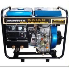 Máquina de soldadura de generador diesel (KDE6700EW)