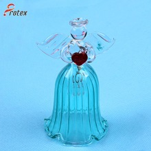 2015 Décoration Angel Shape Glass Lunch Bell