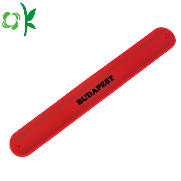 Red Silicone Wriststrap