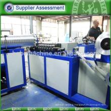Flexible aluminum foil duct forming machine
