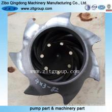 Pompe chimique d'ANSI / roue centrifuge de pompe de Durco 4 * 3-82
