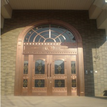 Exterior Security Main Entry Pure Copper Doors