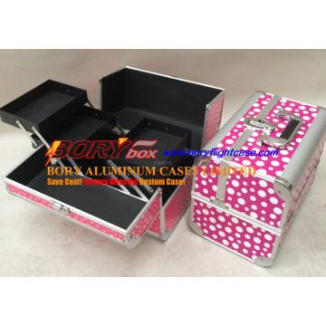 Tragbare kleine personalisierte Make-up-Hartschale